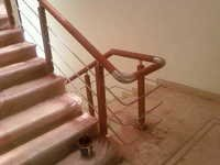 Wooden SS Staircase Handrailings