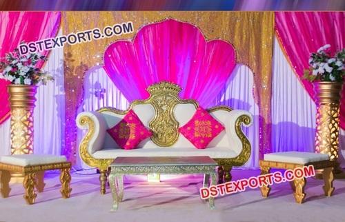 Wonderful Wedding Sofa Set