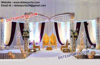 Gorgeous Wedding Mandap