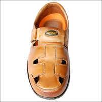 Casual Leather Roman Sandal
