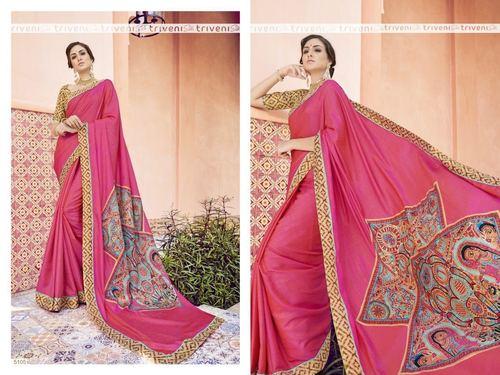 Party Wear Art Silk Saree