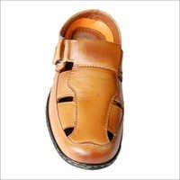 Men's Casual Leather Roman Sandal
