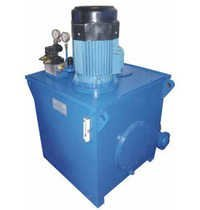 Hydraulic Power Pack with Tank Cleaning Arrangemet