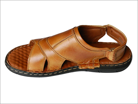 Mens Casual  Leather Slipper