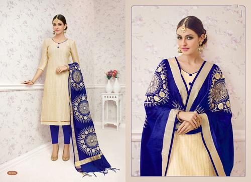 Chanderi Cotton Salwar Suit