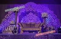 Modern Marriage Stage Backdrop
