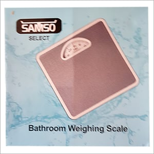 Bathroom Weighing Scale