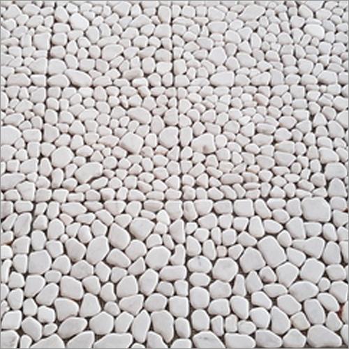 White Without Interlock Tile (Polished)