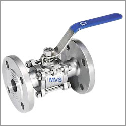Three Piece Flange End Valve