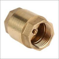 Vertical Type NRV Brass Valve