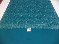 PURE PASHMINA ALL OVER NEEDLE WORK SHAWL
