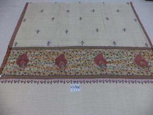 Pure Pashmina Needle Work Border shawls