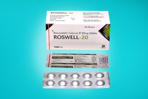 Rusuvastatin Calcium 20