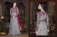 GEORGETTE WORK SUITS WITH NAZNIN CHIFFON ANARKALI