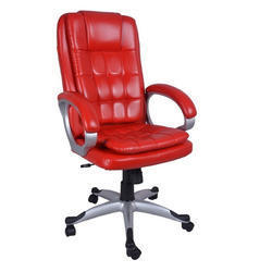 Executive Hi Back Red Chair