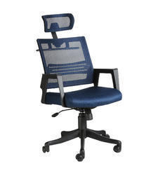 Marino Executive HB Blue Chairs