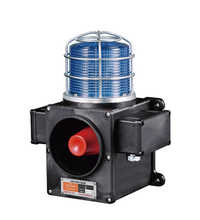Self-Standing Heavy Duty Warning Light with Siren