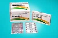 Trypsin 48 mg,  Bromelain 90 mg, Rutoside 100 mg, Diclofenac 50 mg