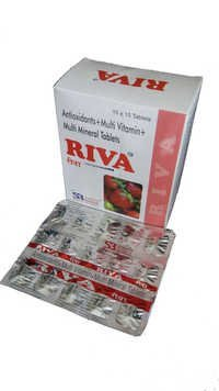 Riva Tablet (Multivitamin And Multimineral Tablets With Antioxidant)