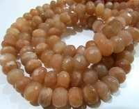 Mystic Coated Peach Silverite Beads