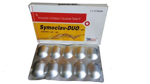 amoxicillin and clavulanate potassium tablet