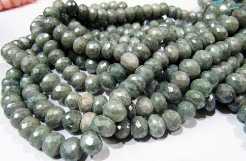 AAA Quality Mystic Coated Green Silverite Beads