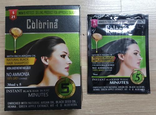 Colorina Black Hair Shampoo 30 Ml