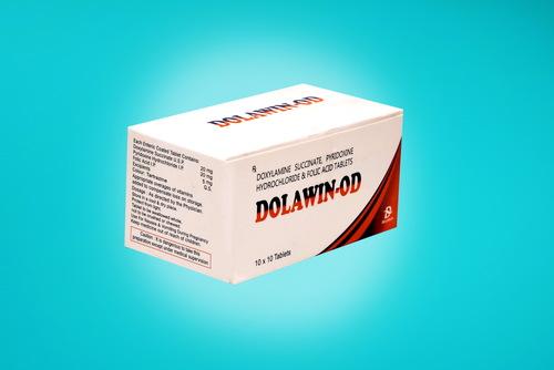 Doxylamine Succinate 20, Pyridoxine Hcl 20 , Folic Acid 5