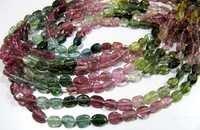 AAA Quality Natural Multi Tourmaline Beads