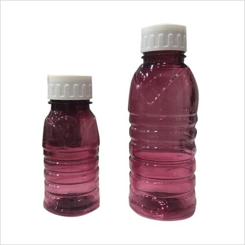 wine red color pet bottles