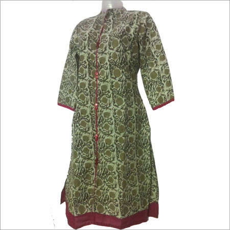 Ladies Printed Cotton Kurti