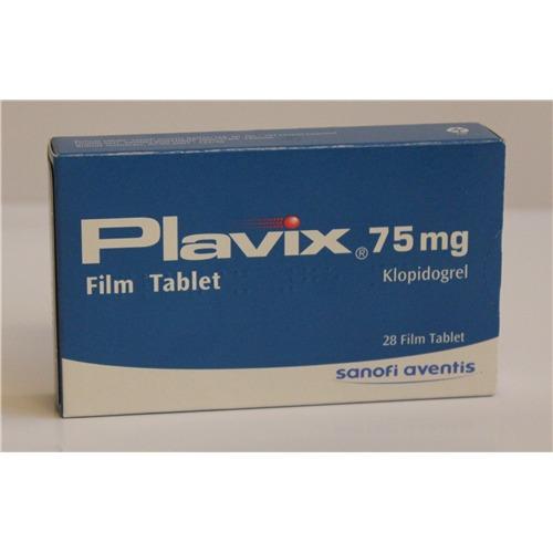PLAVIX 75 MG 28 TABLETS