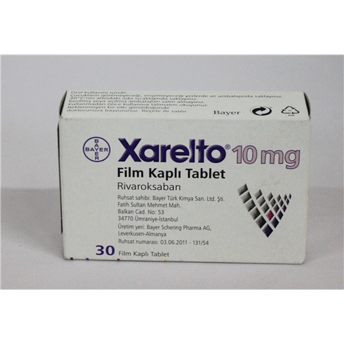 XARELTO 10 MG 28 TABLETS
