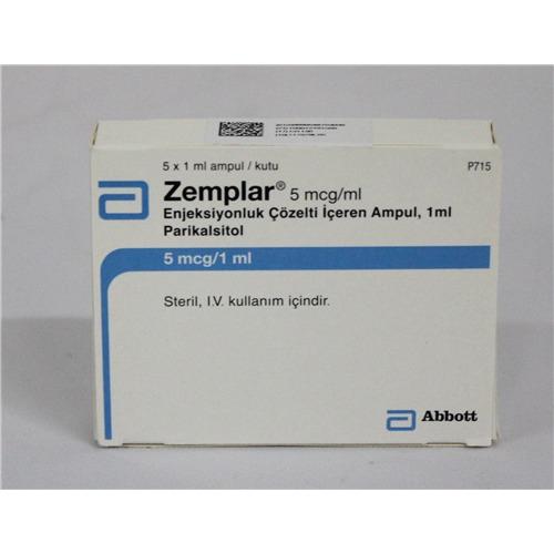 ZEMPLAR 5 MCG  1 ML -5- AMPOULS