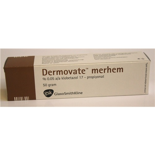 DERMOVATE 50 GR OINTMENT