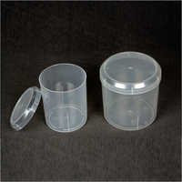 100 and 200 Round Container for Ear Buds