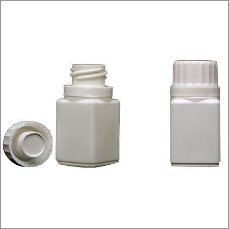 Square Bottle with Cap