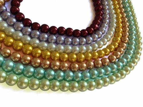 Glass Pearl Beads