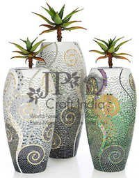 Mosaic Vase or Flower Pot