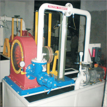 Pelton Water Turbine Test Rig