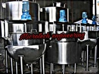 MIXING SPHERICAL KETTLE
