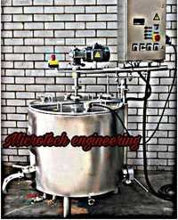 BATCH PASTEURIZERS FOR ICE CREAM MIX