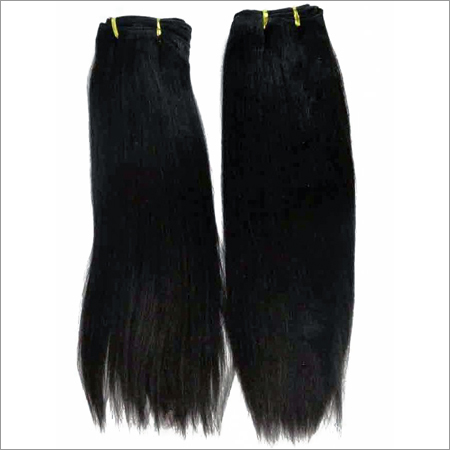 Remy Wefted Straight Hair