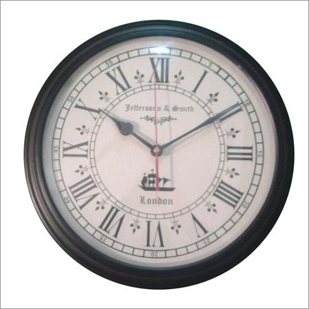 Antique Roman Alphabet Clock