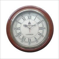 Antique Roman Alphabet Wall Clock