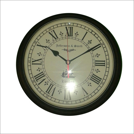 Antique Round Shape Wall Watches