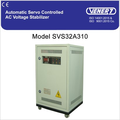 10Kva Automatic Servo Controlled Air Cooled Voltage Stabilizer Certifications: Is 9815