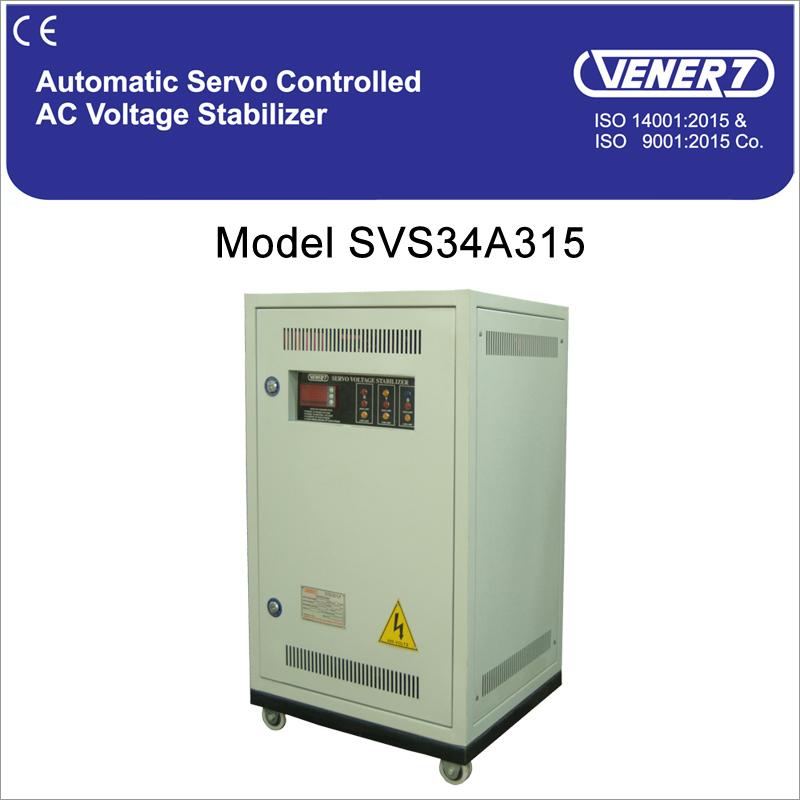 Servo Voltage Stabilizer Air Cooled Servo Voltage