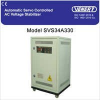 30 kVA Automatic Servo Controlled Air Cooled Voltage Stabilizer