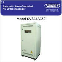 50kVA Automatic Servo Controlled Air Cooled Voltage Stabilizer